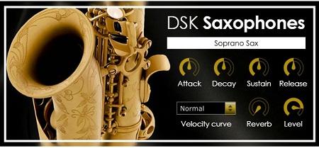 دانلود وی اس تی DSK Saxophones v2.4
