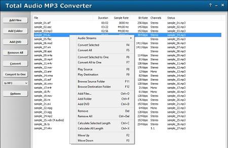 دانلود نرم افزار Total Audio MP3 Converter 2.3.1037